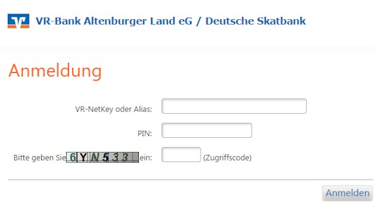 Deutsche Skatbank Login